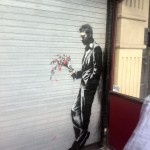 ... newest Banksy piece.