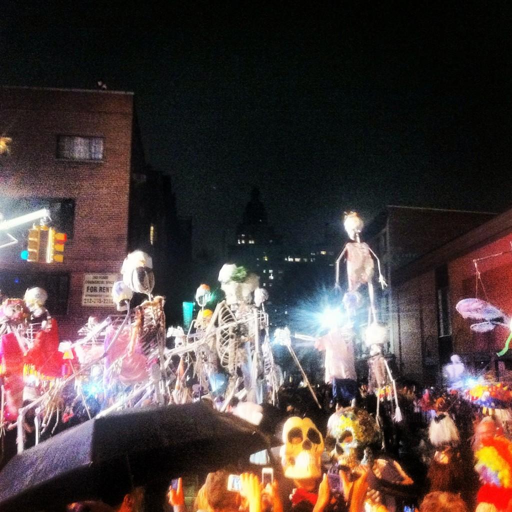 Death dancing on the umbrella