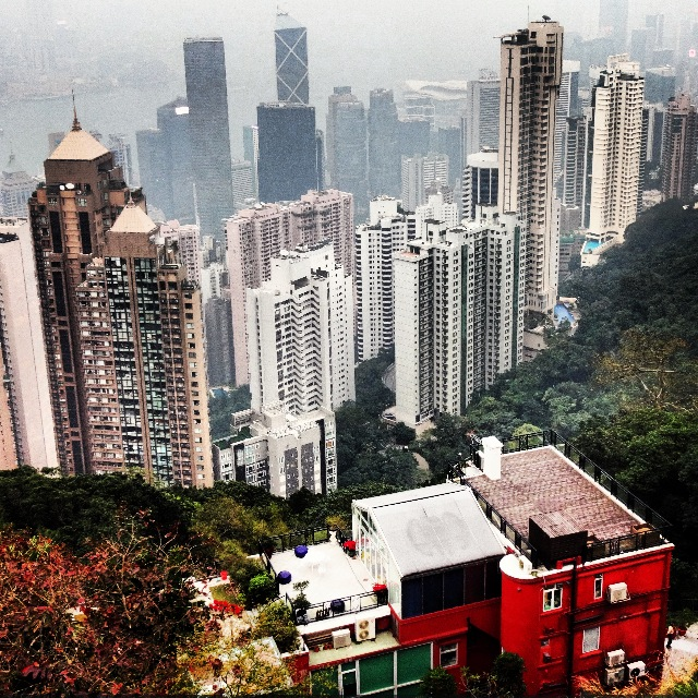 The Peak - most famous view