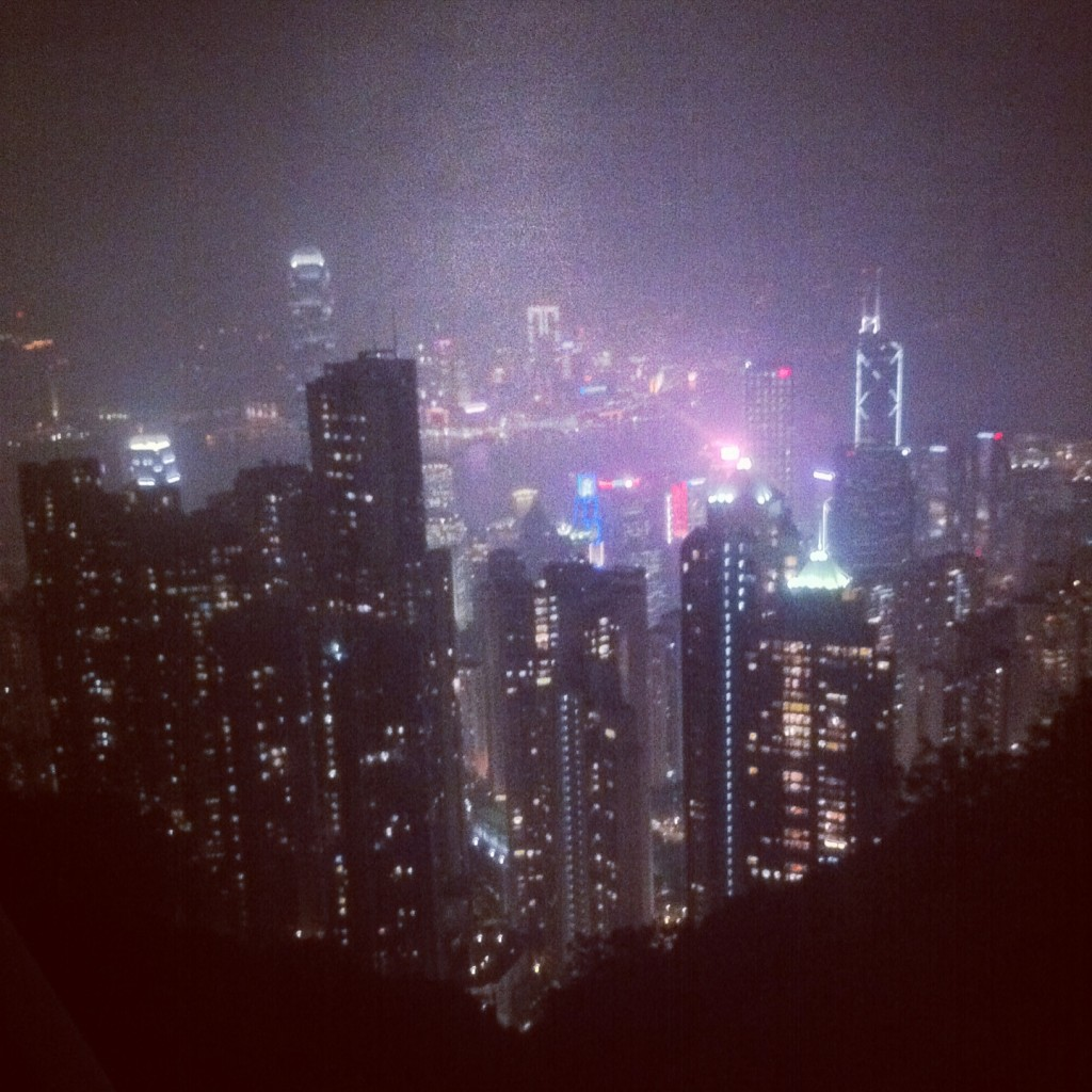 The Peak - by night
