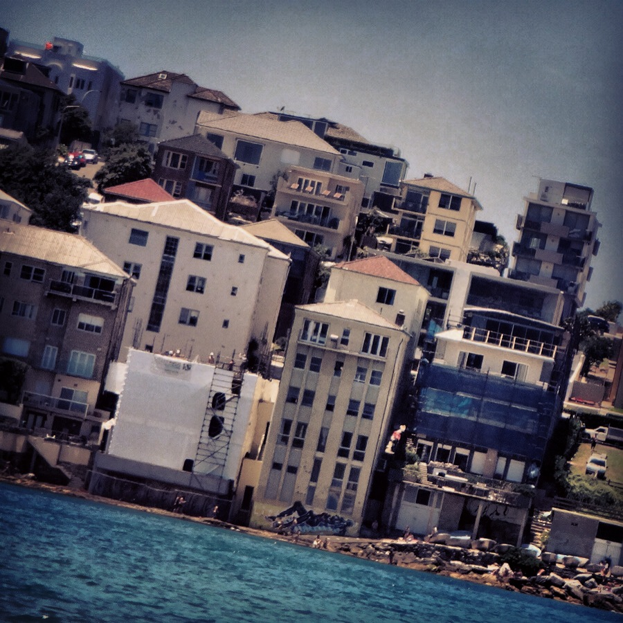 Bondi beach houses