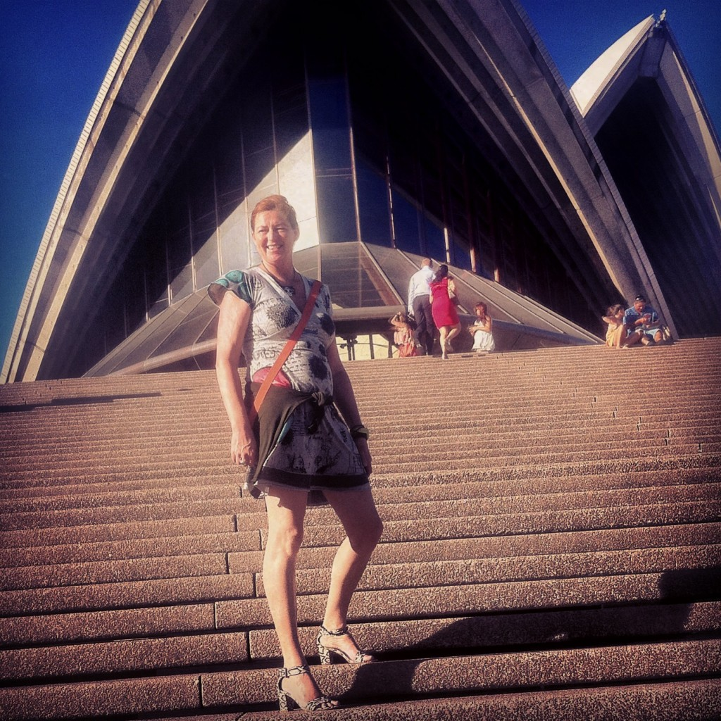 Goin' to the opera house