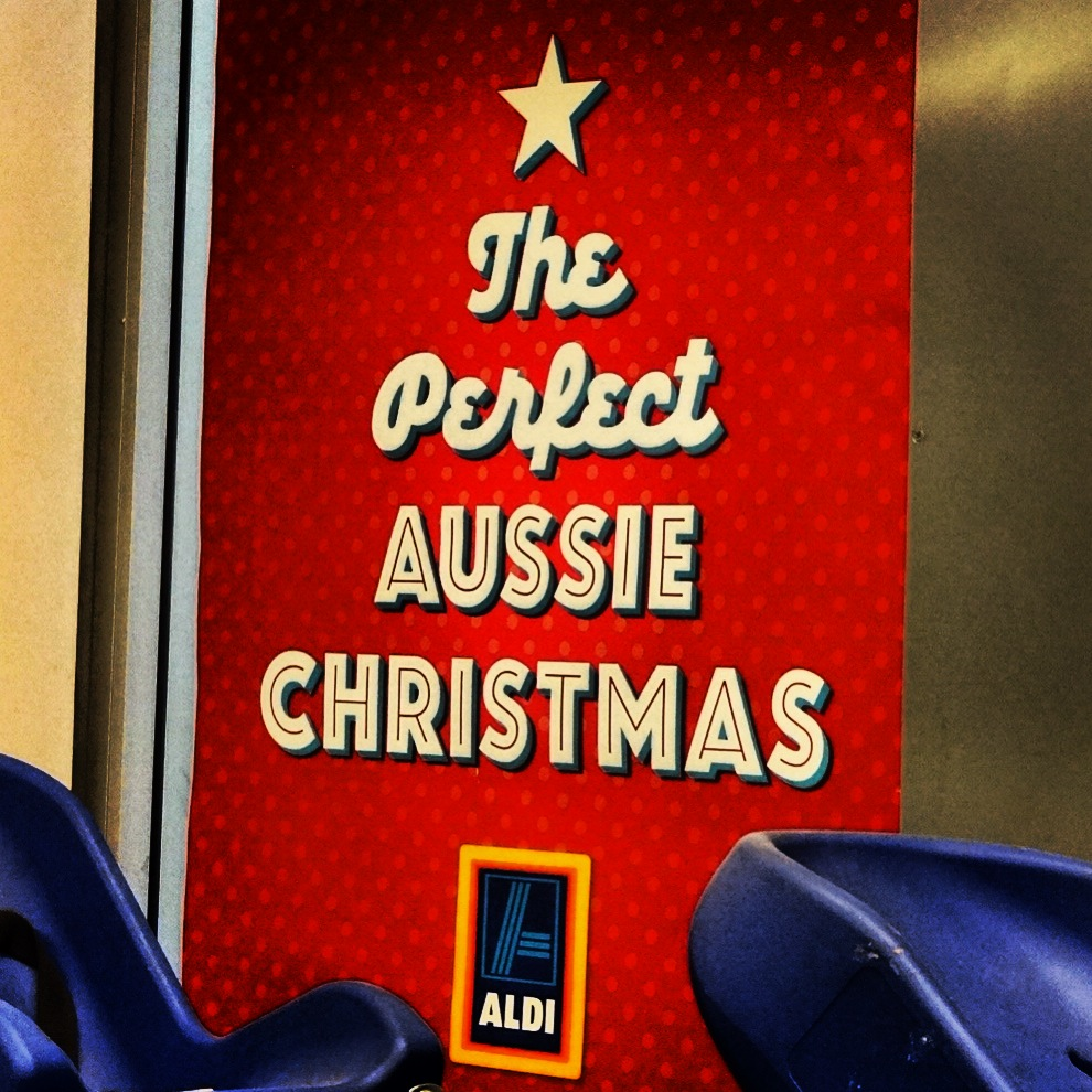 Summer christmas at ALDI