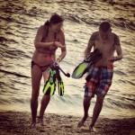 Snorkeling partner