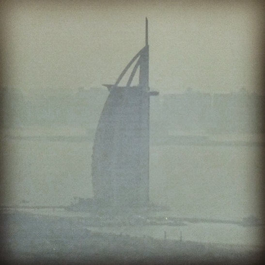 Burj al Arab (Dust in the wind)